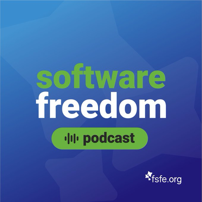 Software freedom podcast logo
