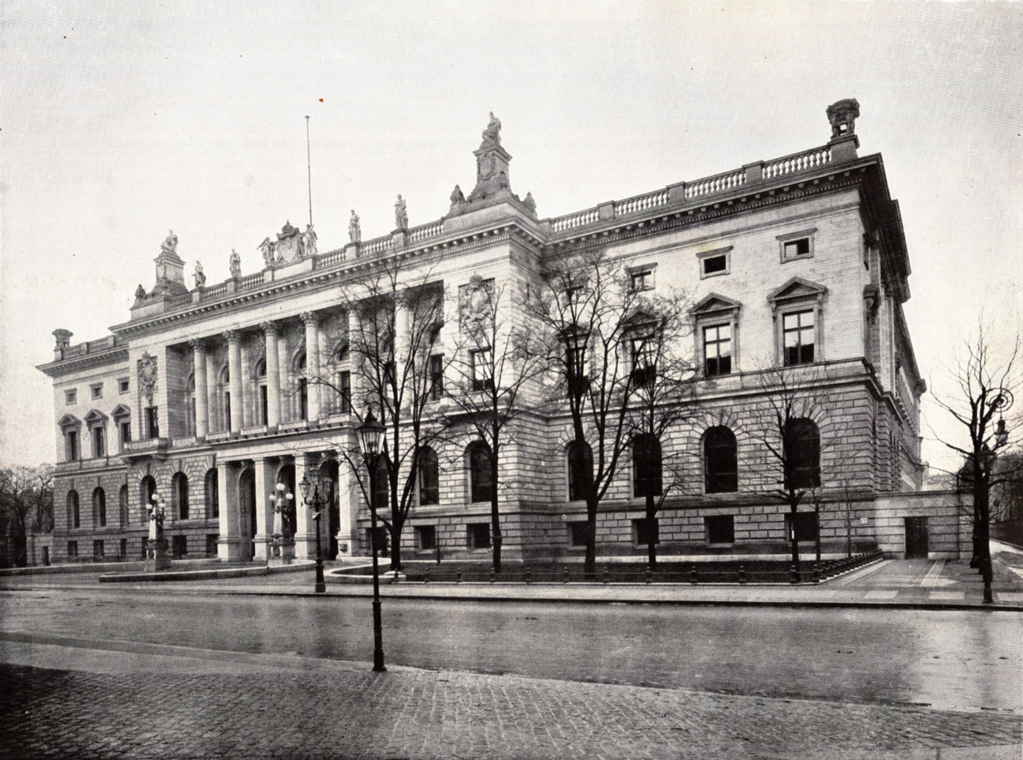 The Berlin Abgeordnetenhaus around 1900