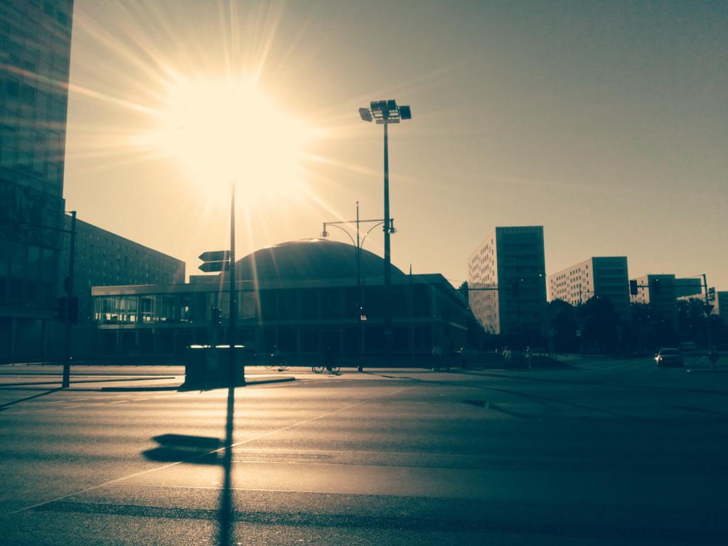 The Berlin Congress Centre at Berlin Alexanderplatz
