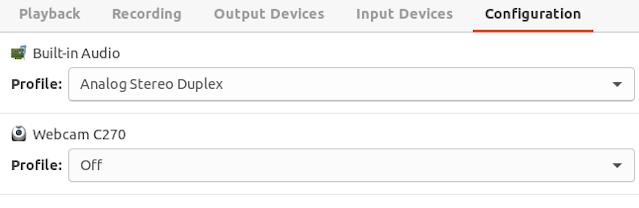 Screenshot of apps in work profile