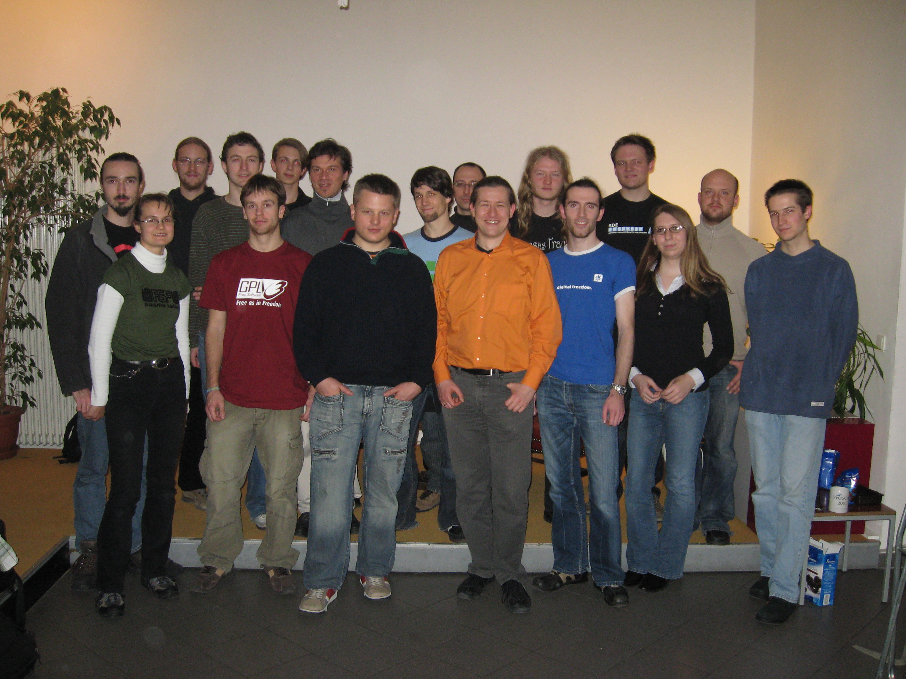 Group picture from Dezember's Fellowship meeting in Berlin.